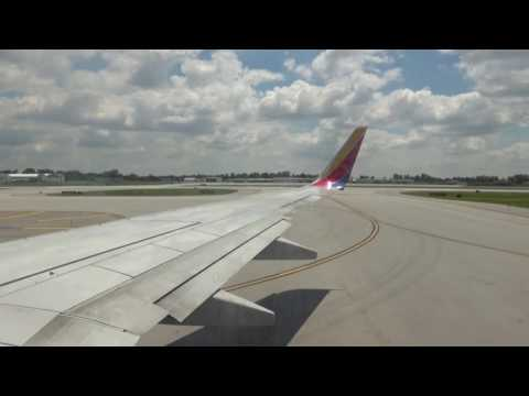 Southwest Airlines 737-700 Takeoff from Columbus