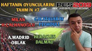 21 ŞUBAT HAFTANIN OYUNCULARINI TAHMİN - PES 2019 MOBİLE - MYCLUB YouTube Videos