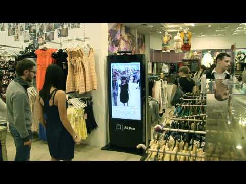 Kinect Fitting Room for Topshop