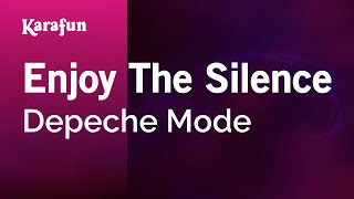 Karaoke Enjoy The Silence - Depeche Mode *