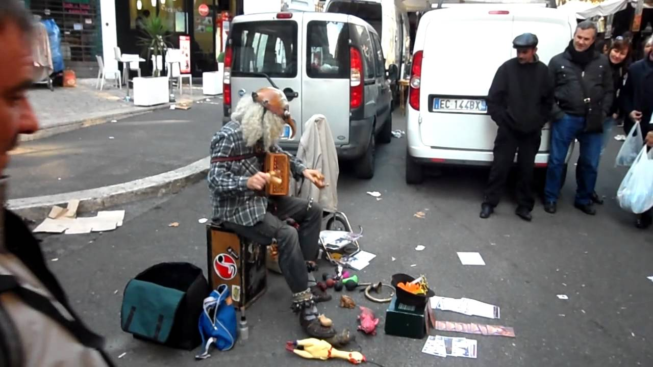 Porta portese street performer youtube - Porta portese immobiliare affitti roma ...