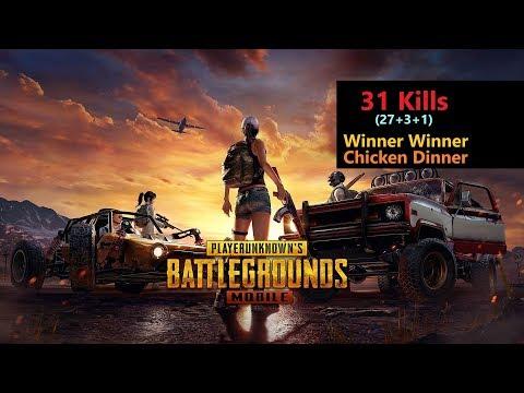 "[Hindi] PUBG Mobile | ""27 Kills"" Amazing Pochinki Fight & Chicken Dinner"
