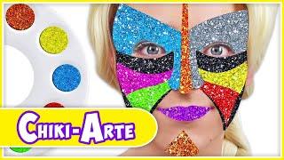 Aprende los Colores con Maquillaje de Mariposa | Los Juguetes Son Divertidos