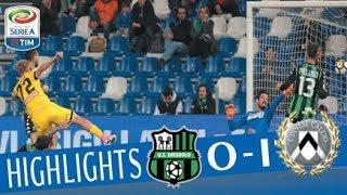 Sassuolo - Udinese 0-1 - Highlights - Giornata 10 - Serie A TIM 2017/18