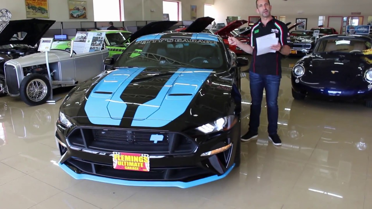 Richard Petty Mustang >> 2018 Petty S Garage Mustang King Premier For Sale With Test Drive And Walk Through Video
