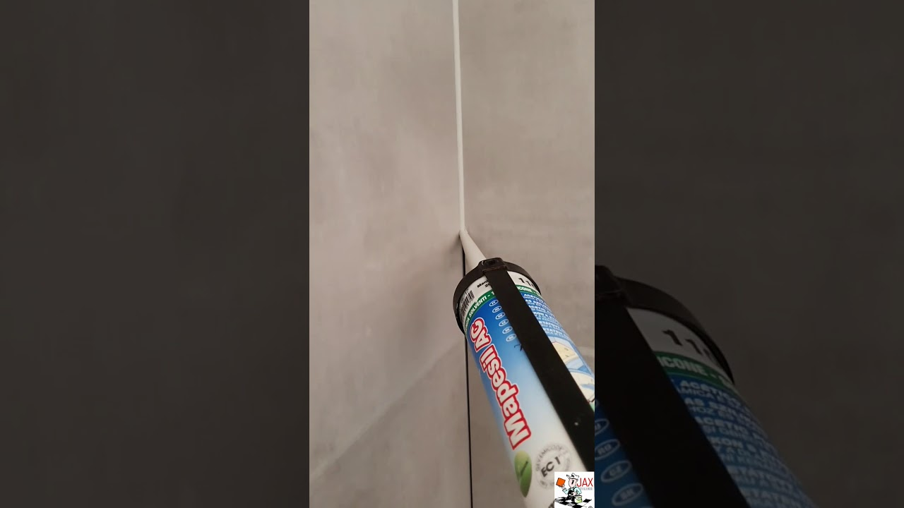 How to apply silicone were movement occurs between tiles