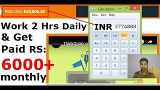 How To Earn Money Online By Giving Your Opinion | Think Opinion Tutorial in Hindi | Part Time Job