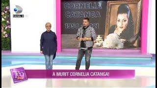 Teo Show (26.03.2021) - Durere in lumea artistilor! A murit Cornelia Catanga!
