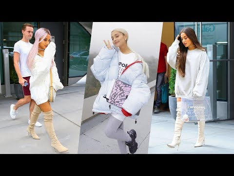 Ariana Grande's Hairstyle, Casual Style, Street Style & Outfits - 2018