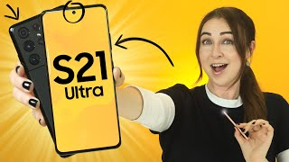 Samsung Galaxy S21 Ultra - TIPS, TRICKS & HIDDEN FEATURES!!!