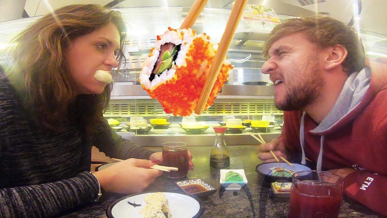 Ochutnáváme Sushi se Stáňou | Pozvraceli jsme se?