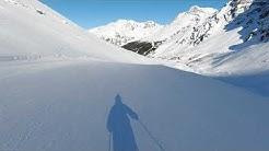 Legendäre Schöntauf Talabfahrt, Sulden am Ortler Dezember 2019, Madritsch,Vinschgau Südtirol
