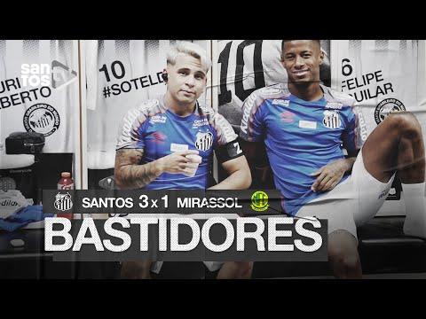 SANTOS 3 X 1 MIRASSOL | BASTIDORES | PAULISTÃO (07/03/2020)