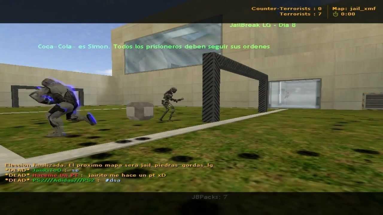 mapa jail xmf