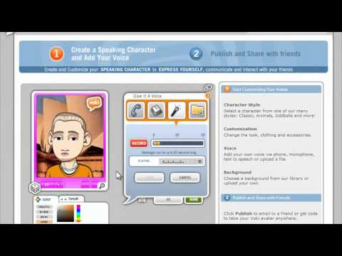 Tutorial - How to create a speaking, animated avatar with Voki.com (it's fun, free, and easy!)