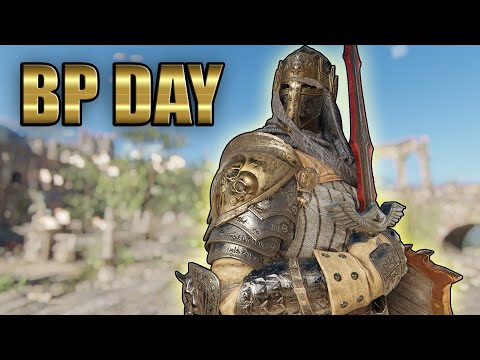 Black Prior Day! [For Honor]