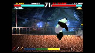Tekken 3: Tekken Force Mode - Panda - Dr. Bosko Unlocked!!