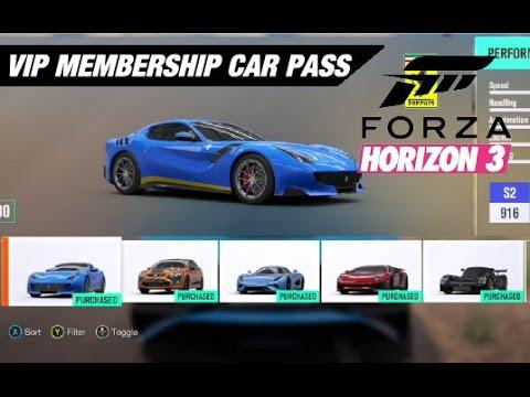 Forza Horizon  Vip Car Pack