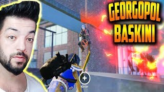 GEORGOPOL DA BİTMEYEN BASKIN 37 KİLL SQUAD PUBG MOBİLE