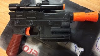 Mod-It Monday!! NERF Han Solo Blaster! (A day late...)