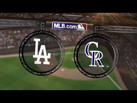 7/4/14: Kershaw dominates as Dodgers drub Rockies