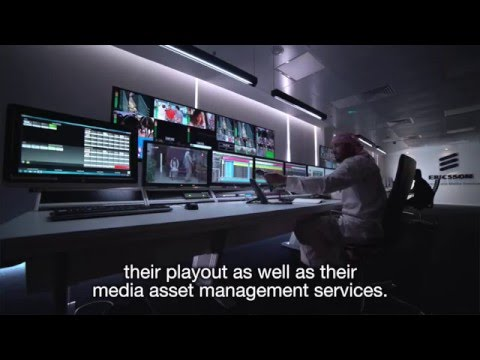 Ericsson Broadcast and Media Services center, Middle East