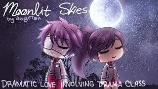 Moonlit Skies | Romance GLMM | GACHA LIFE MINI MOVIE