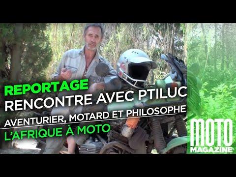 L'Afrique à Moto Avec Ptiluc : Aventurier, Motard Et Philosophe !