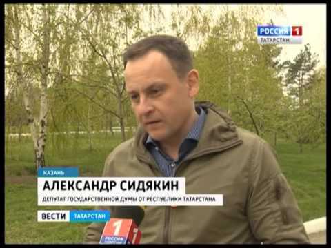 В Чистополе установили надгробие участнику войны Ивану Глебову