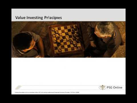 Introduction to Value Investing 2014/03/05