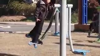 Kafasını Spor Aletine Vuran Çocuk