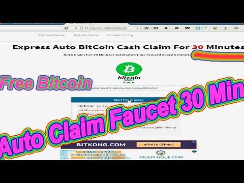 Auto Claim Faucet.Auto Bitcoin Faucet 2018. Bitcoin Cash.BTH.Авто Краны 2018.Биткоин Кэш на Автомате