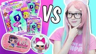 Ляльки з зачісками HAIRDORABLES SURPRISE DOLLS vs LOL розпакування сюрпризів від Долиш Фокс