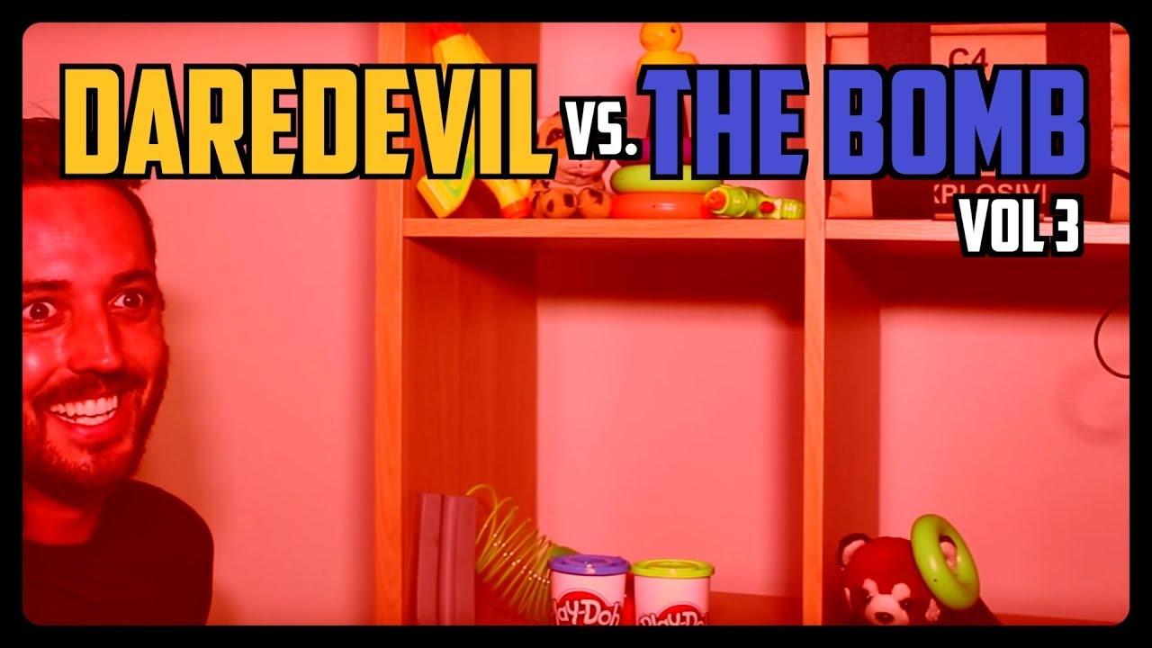 Sketch From Superheroes: Daredevil vs The Bomb 3