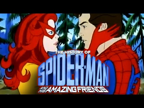 The History of Spider-Man & His Amazing Friends: Spiders, Fire & Ice