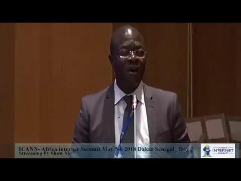 ICANN- Africa internet Summit May 5-6: 2018 Dakar Sénégal Streaming by show Me