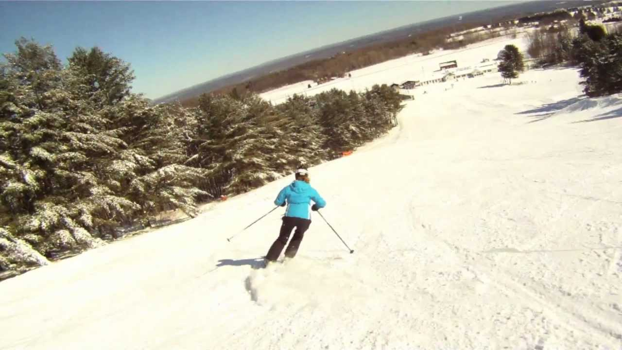 snow ridge ski area - youtube