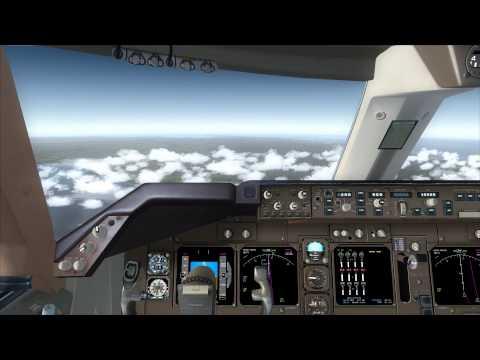 Singapore Airlines 747-400 Full Flight [Bangkok Don Muang DMK] To [Phuket HKT] (PMDG FSX HD)