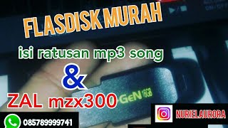 flasdisk berisi ratusan mp3 song dan data ZAL . (for sale)