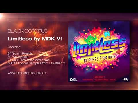 Black Octopus - Limitless By MDK Vol 1 for Serum | Resonance