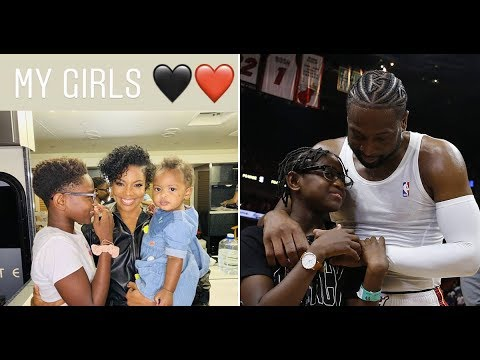 Dwyane Wade defends his son's look against post-Thanksgiving ...