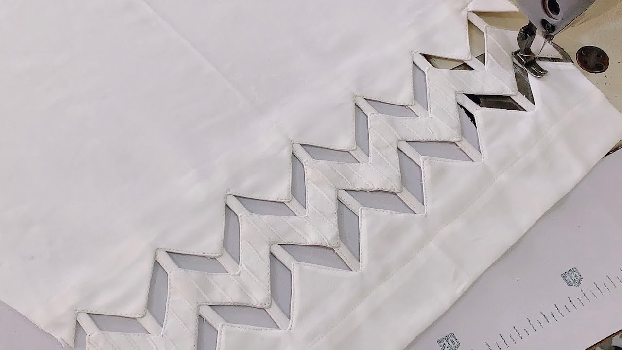Elegant and very stylish trouser design / Poncha design | The Latest Design