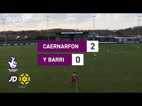 Caernarfon Barry Goals And Highlights