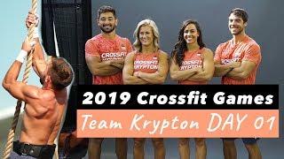 CamilleBaz | 2019 Crossfit Games Team Krypton: Day 1