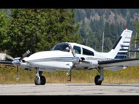 Cessna 310 Takeoff