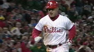 1993WS Gm4: Dykstra lauches two-run homer to right