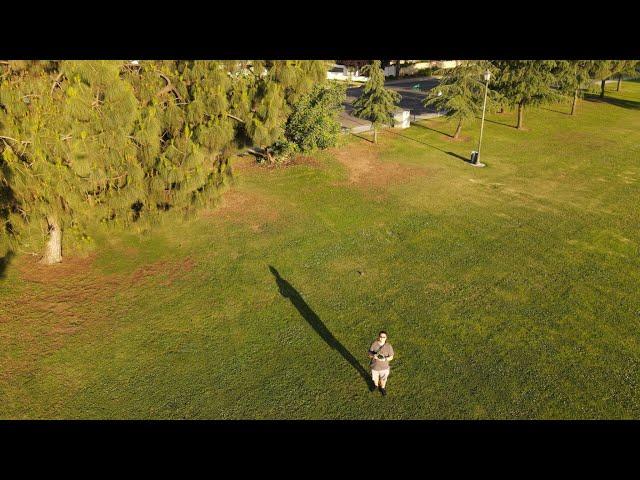 Mavic Air 2 4k 30fps HDR Footage at a local park