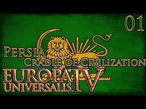 Let's Play Europa Universalis IV Cradle of Civilization - Persia Part 1