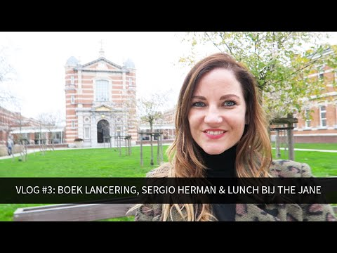 Vlog #3: Boek lancering, Sergio Herman & Lunch bij The Jane