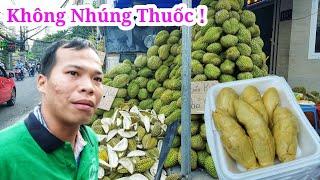 Lần đầu ăn Buffet sầu riêng không nhúng thuốc siêu ngon duy nhất ở Sài Gòn